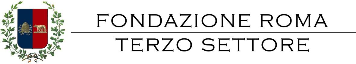 FONDAZIONE TERZO SETTORE orizz